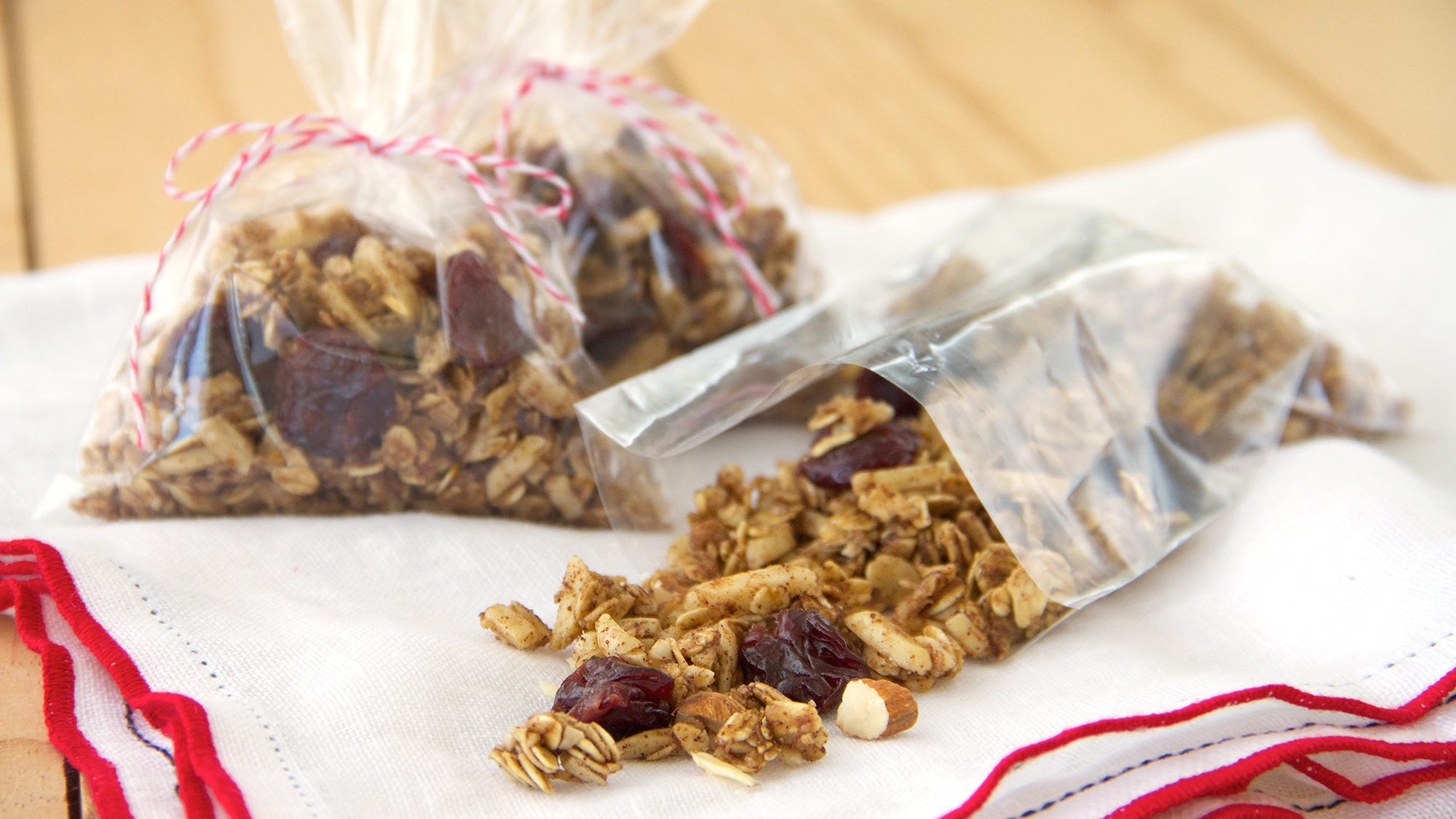 Almond Cherry Granola