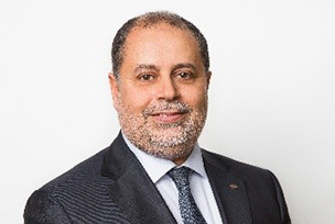 Photo :Dr. Adel Rouz CEO, Fujitsu Laboratories of Europe