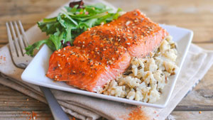 How to make salmon supreme rub