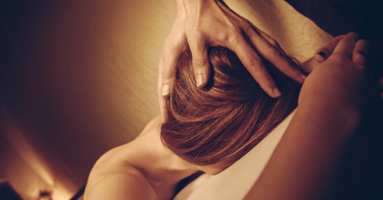 Peaceful Head Massage