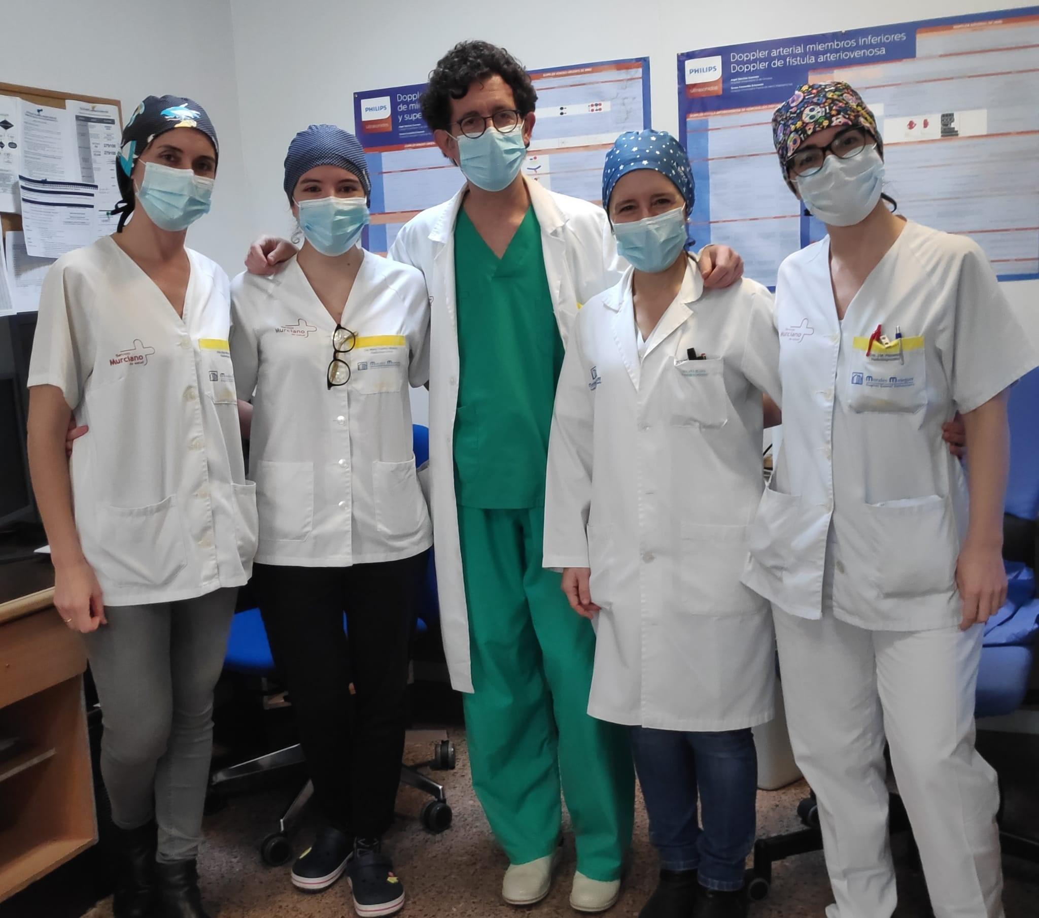 Morales Meseguer General University Hospital-team.jpg