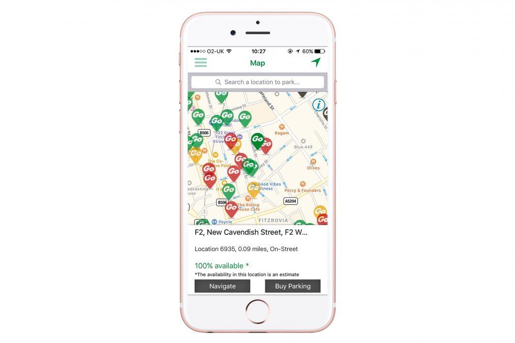 RingGo Parking app