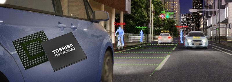 画像認識プロセッサー「Visconti™」は自動車の先進運転支援システムに大きな貢献をしている