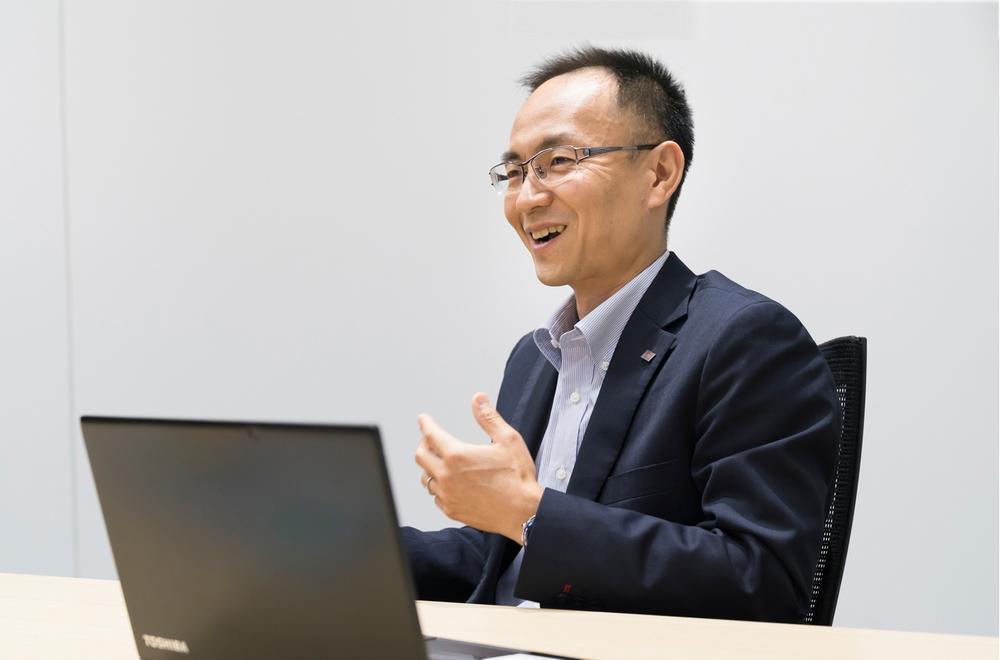 東芝デジタルソリューションズ株式会社 RECAIUS事業推進部 平林 剛氏