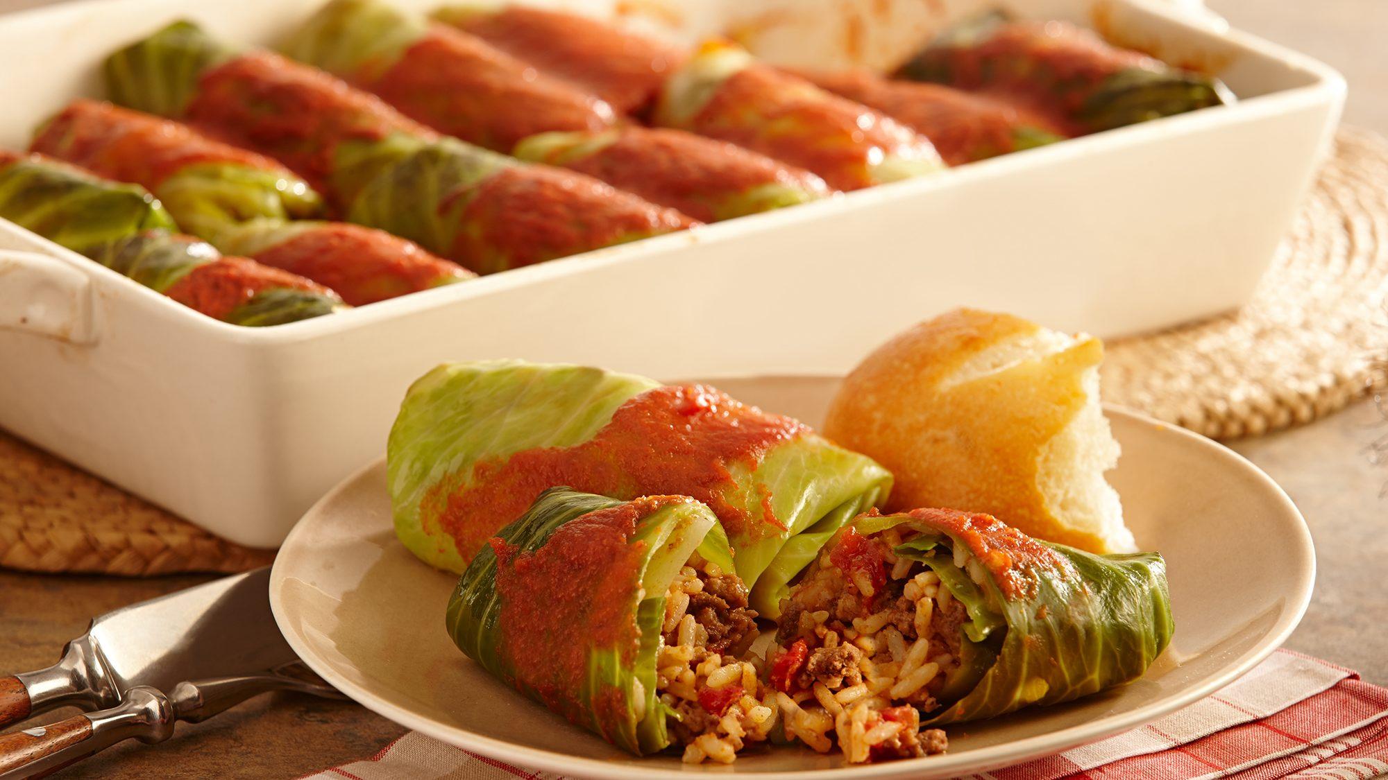 ZATARAIN'S Creole Cabbage Rolls