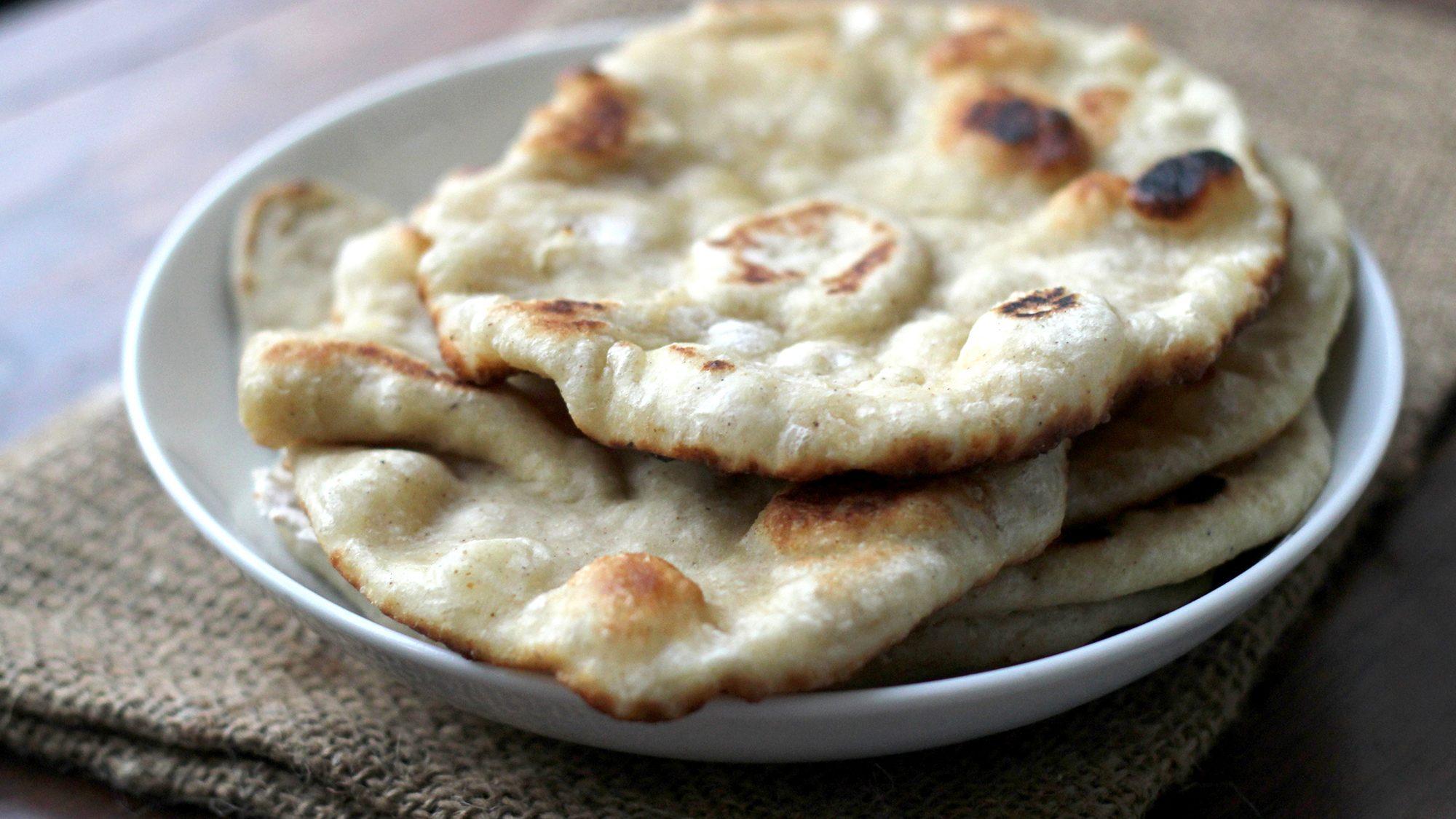 McCormick Gourmet Garam Masala-Spiced Roti Flatbread