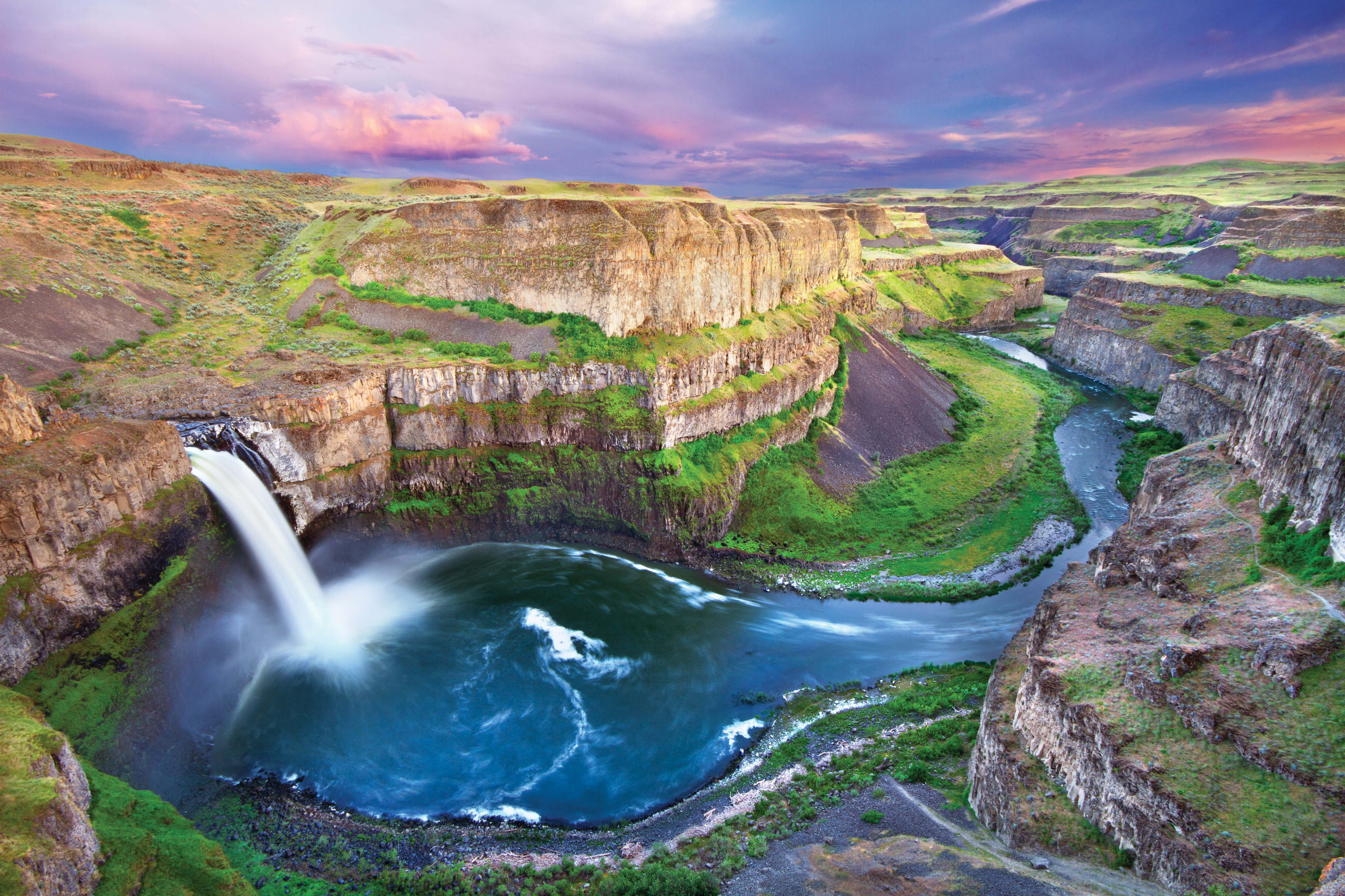 Palouse Falls in Washington