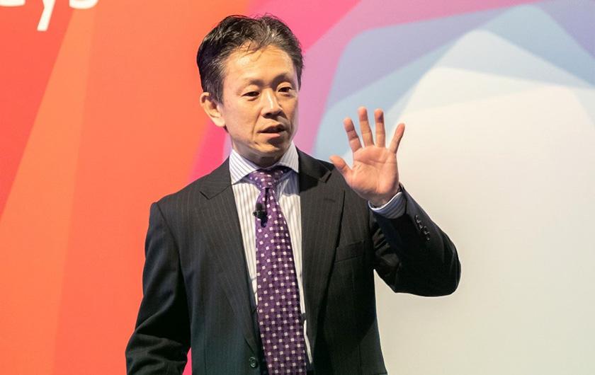 写真 : 大成建設株式会社 ソリューション営業本部AI・IoTビジネス推進部 上田 俊彦 氏