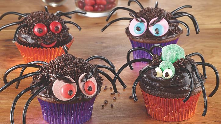 McCormick Creepy Crawly Spider Cupcakes