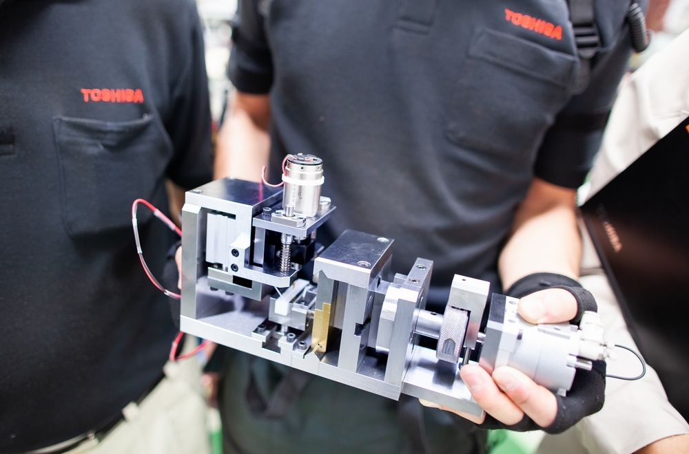 A device created through machine assembly