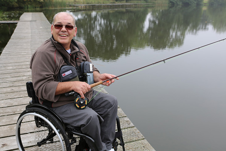 Disabled fishing is more accessible than you thought