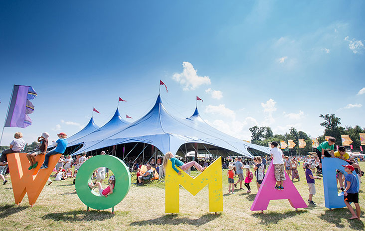 Celebrating world music and dance at child-friendly Womad festival