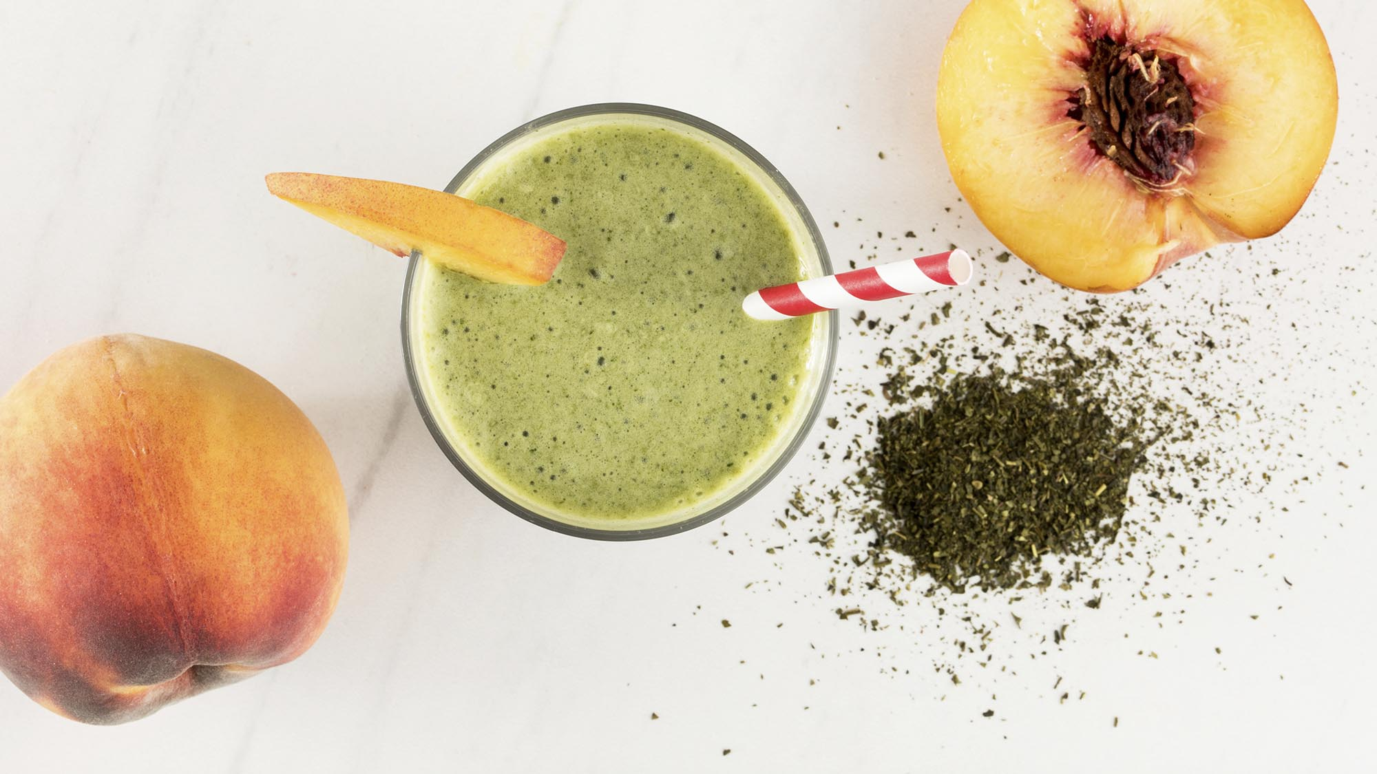 McCormick Peach Matcha Green Tea Smoothie