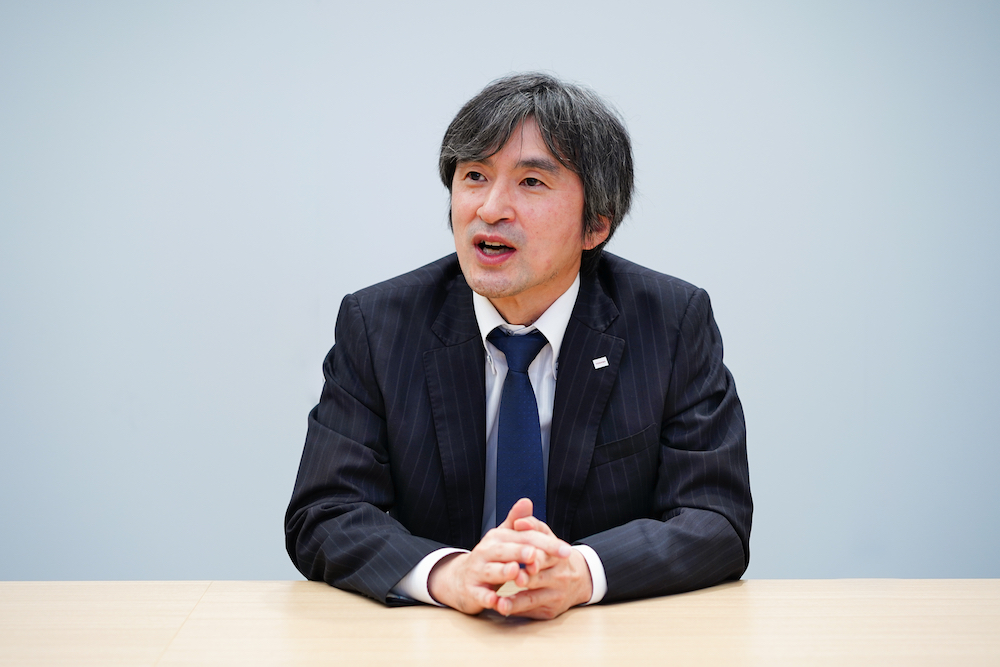 Inoue Masaru, General Manager, Cyber Physical System Department, Toshiba Lighting & Technology Corporation