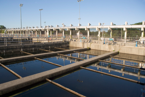 Wastewater goes through multiple phases of purification