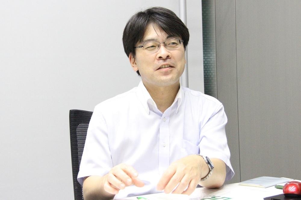 東京エレベータ 技術本部商品企画部 商品戦略担当 グループ長 熊谷将一氏