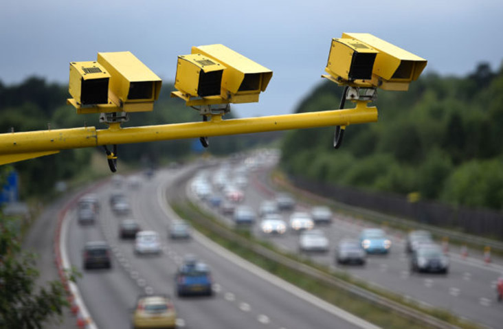 Average speed camera check