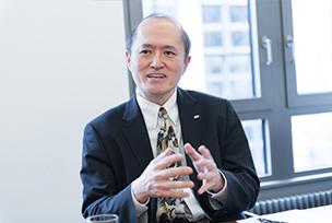 写真 : 津田 宏 富士通研究所 セキュリティ研究所長兼ブロックチェーン研究センター長