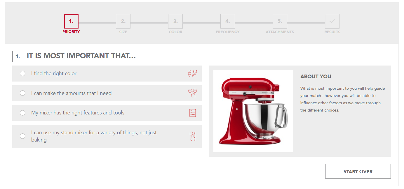 kitchenaid guided selling.PNG