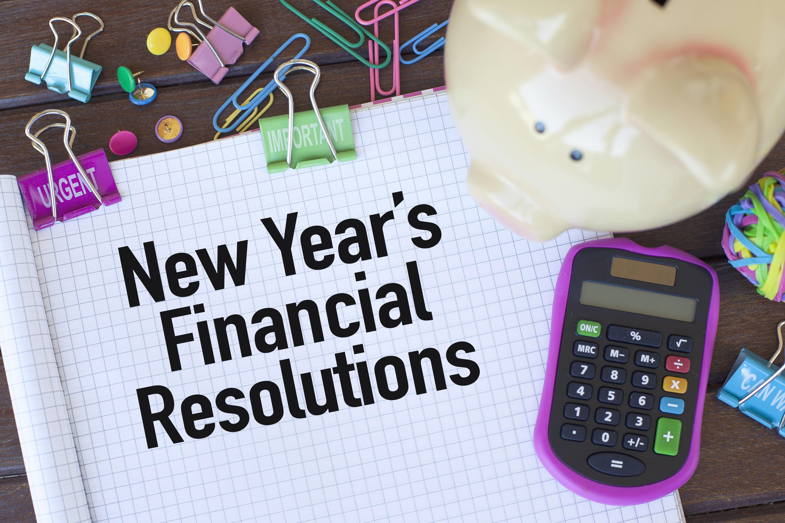 Want to get financially healthy in 2021? 5 simple New Year's resolutions