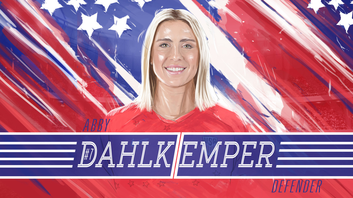 USWNT Abby Dahlkemper