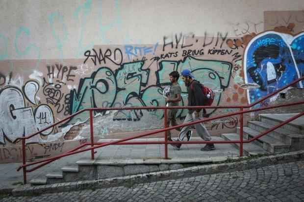 Unaccompanied minor migrants often face violence in their unfamiliar surroundings
