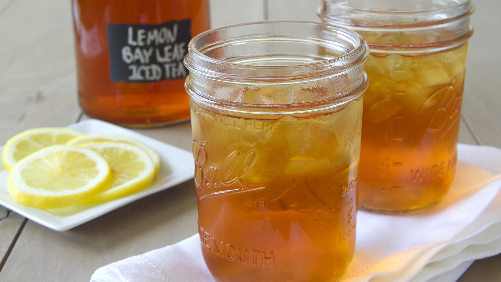 McCormick Gourmet Lemon Bay Leaf iced Tea