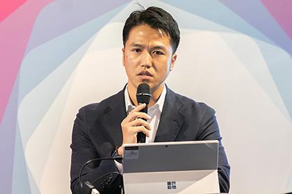 写真 : 国際石油開発帝石株式会社 技術本部 評価技術ユニット 地質グループ 遠竹 行次 氏