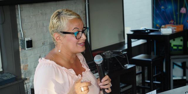 Speaking at the TrueMentors Event.JPG