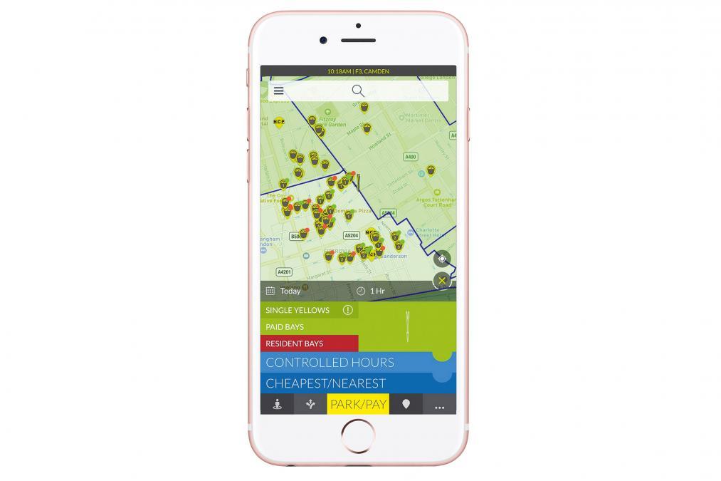 AppyParking app