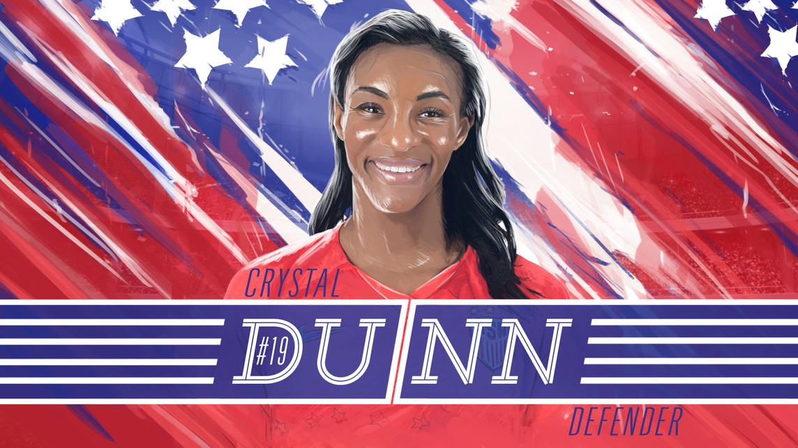 USWNT Crystal Dunn