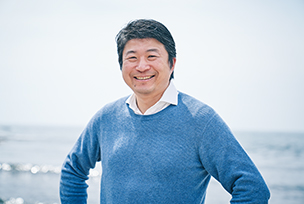 Photo : Eiji Otsuka President, Coast Research Engineering Co., Ltd.