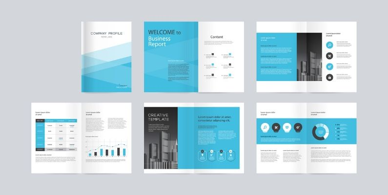 Templates Illustration Types