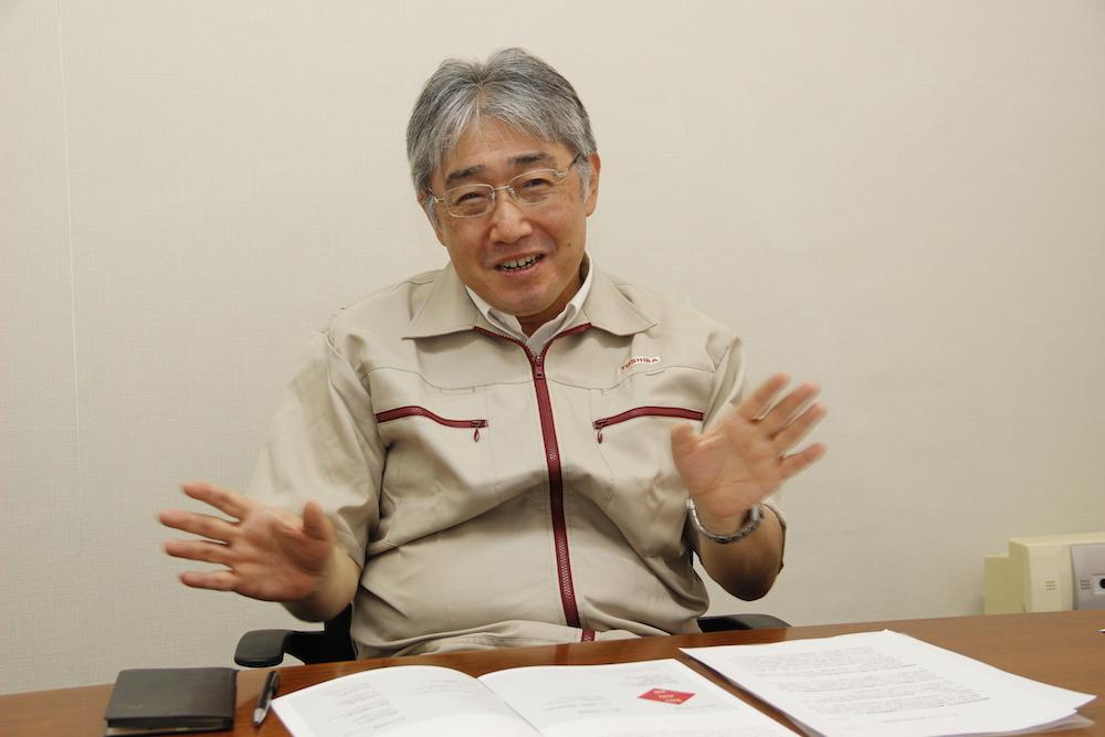Yasutada Nakagawa, Chief Fellow, Corporate Manufacturing Engineering Center, Toshiba Corporation
