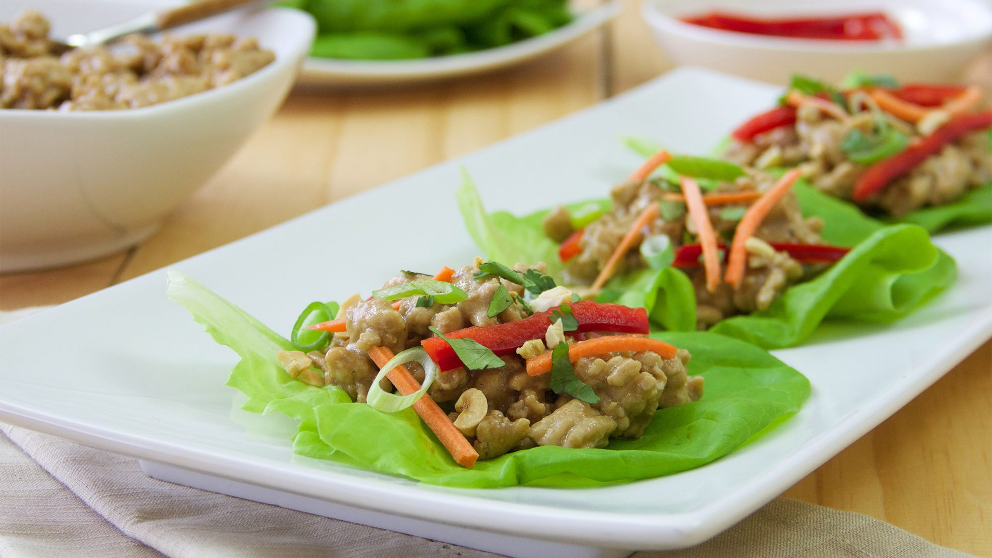 McCormick Gluten Free Asian Style Chicken Wraps