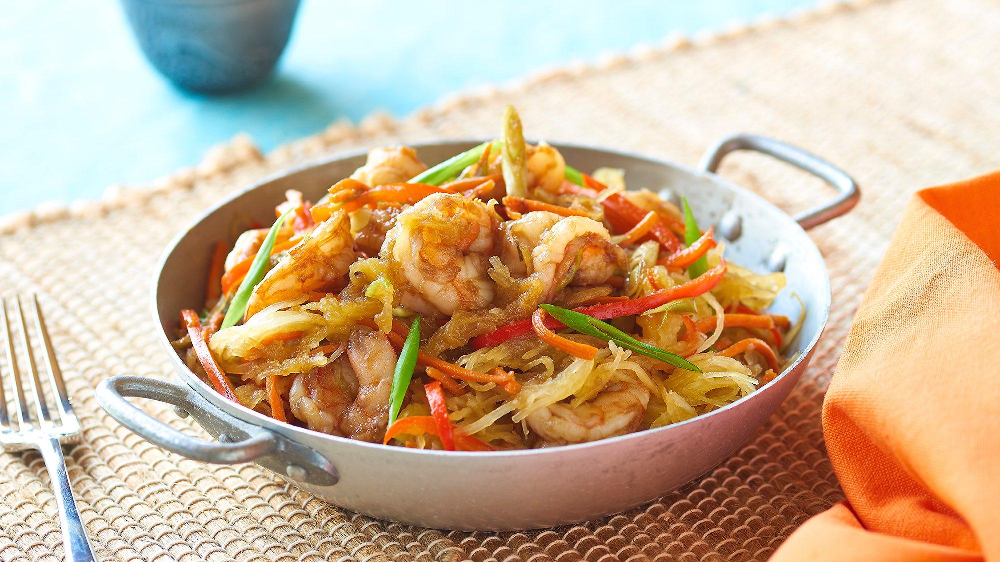 McCormick Spaghetti Squash Shrimp Lo Mein