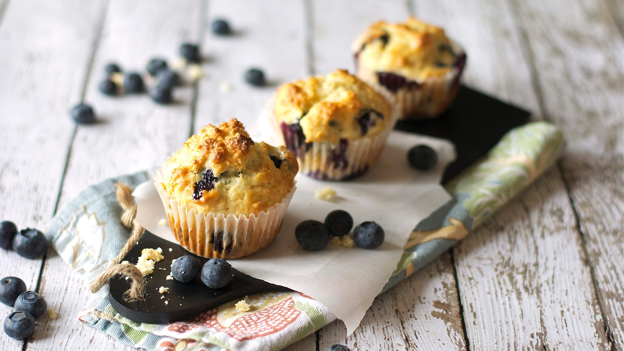 McCormick Lemon Ginger Blueberry Muffins