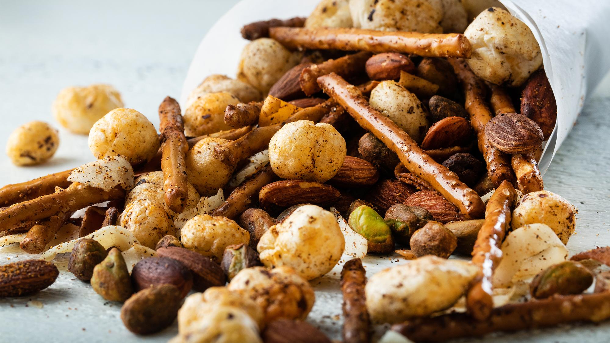 McCormick Cajun Puffed Lotus Seed Snack Mix