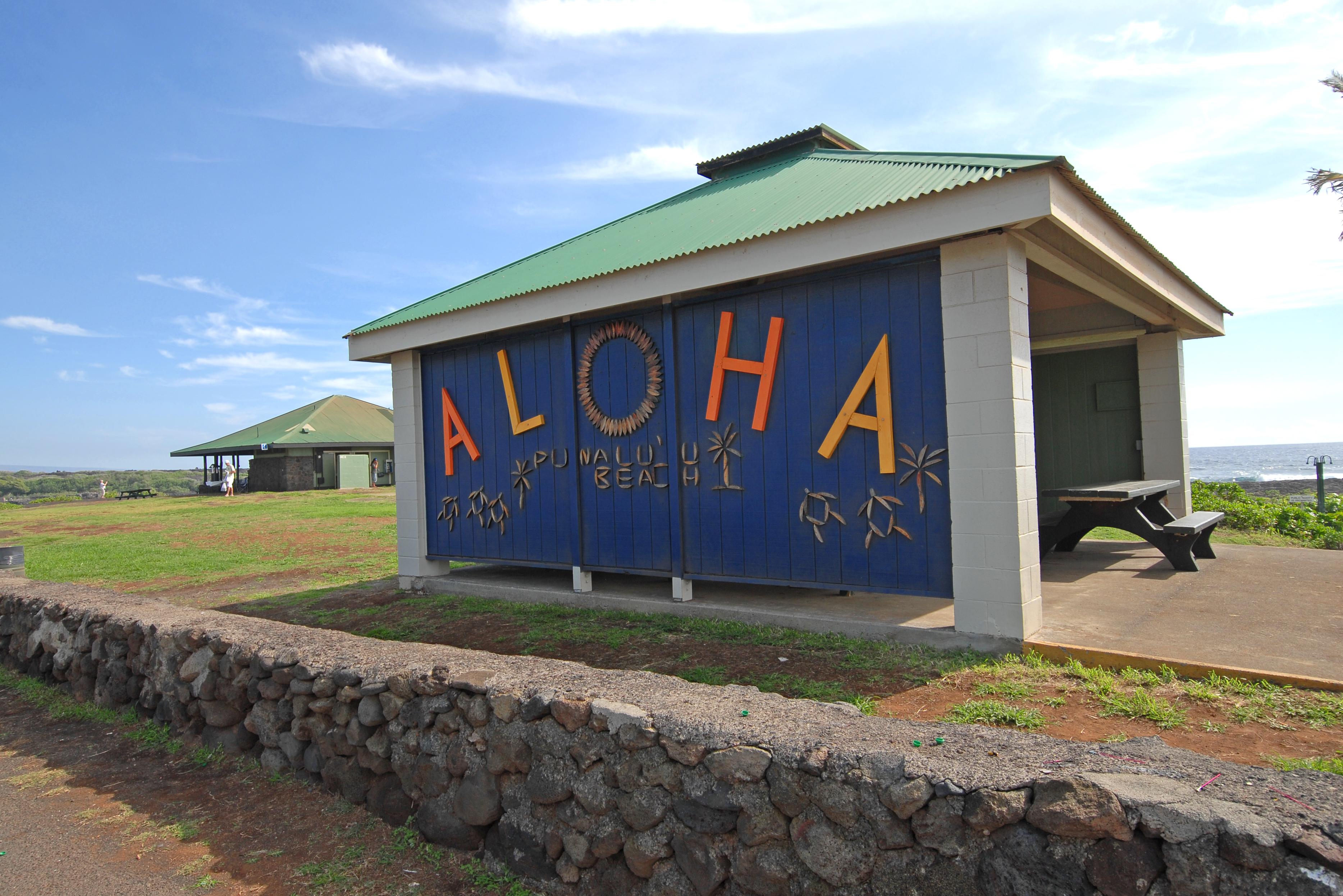 Welcome ALOHA Sign, Hawaii, USA