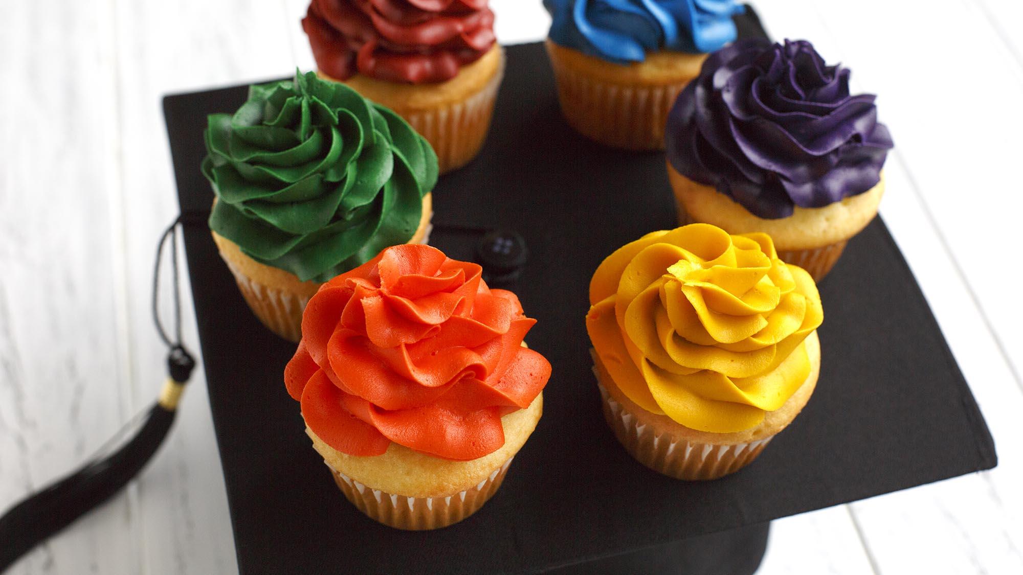 McCormick School Spirit Cupcakes