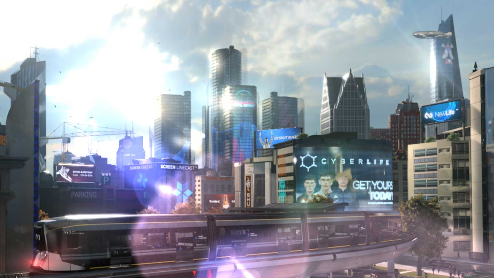 The Futuristic Vision Of Detroit Become Human At T
