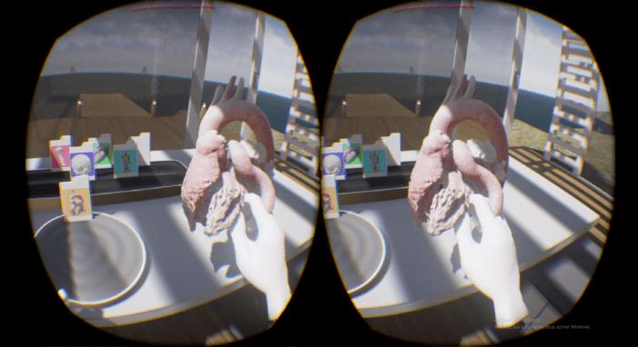 virtual reality dinamic