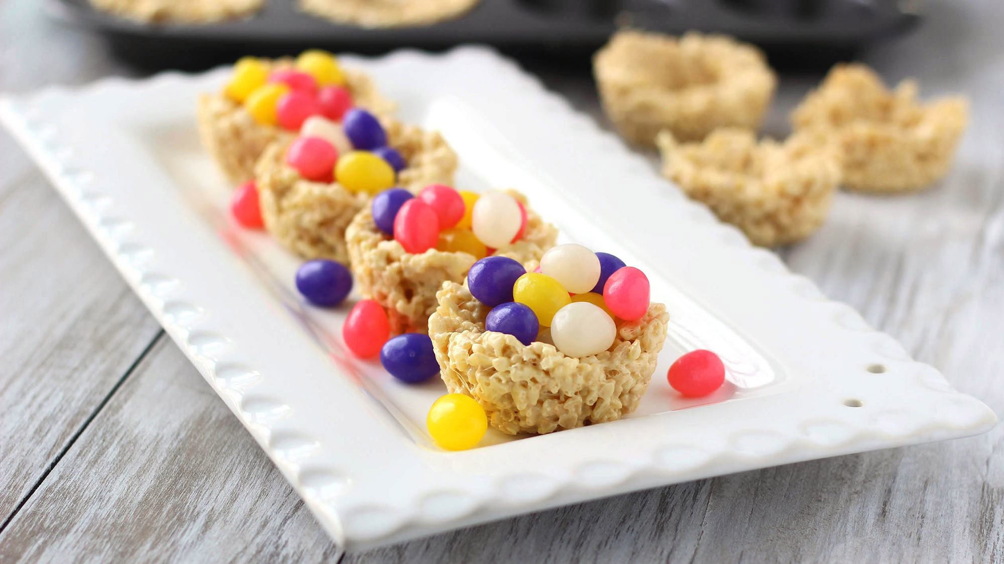 McCormick Easter Basket Crispy Treats