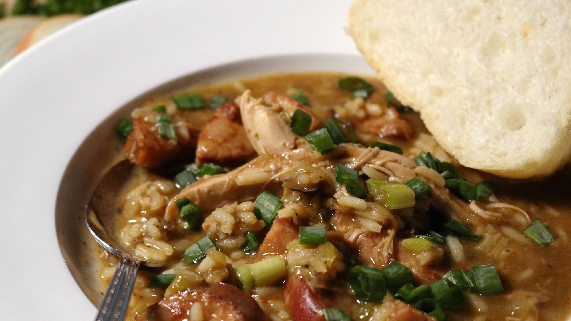 Zatarain's Holiday Turkey Gumbo
