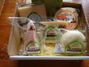 「チーズ工房白糠酪恵舎」の商品セット