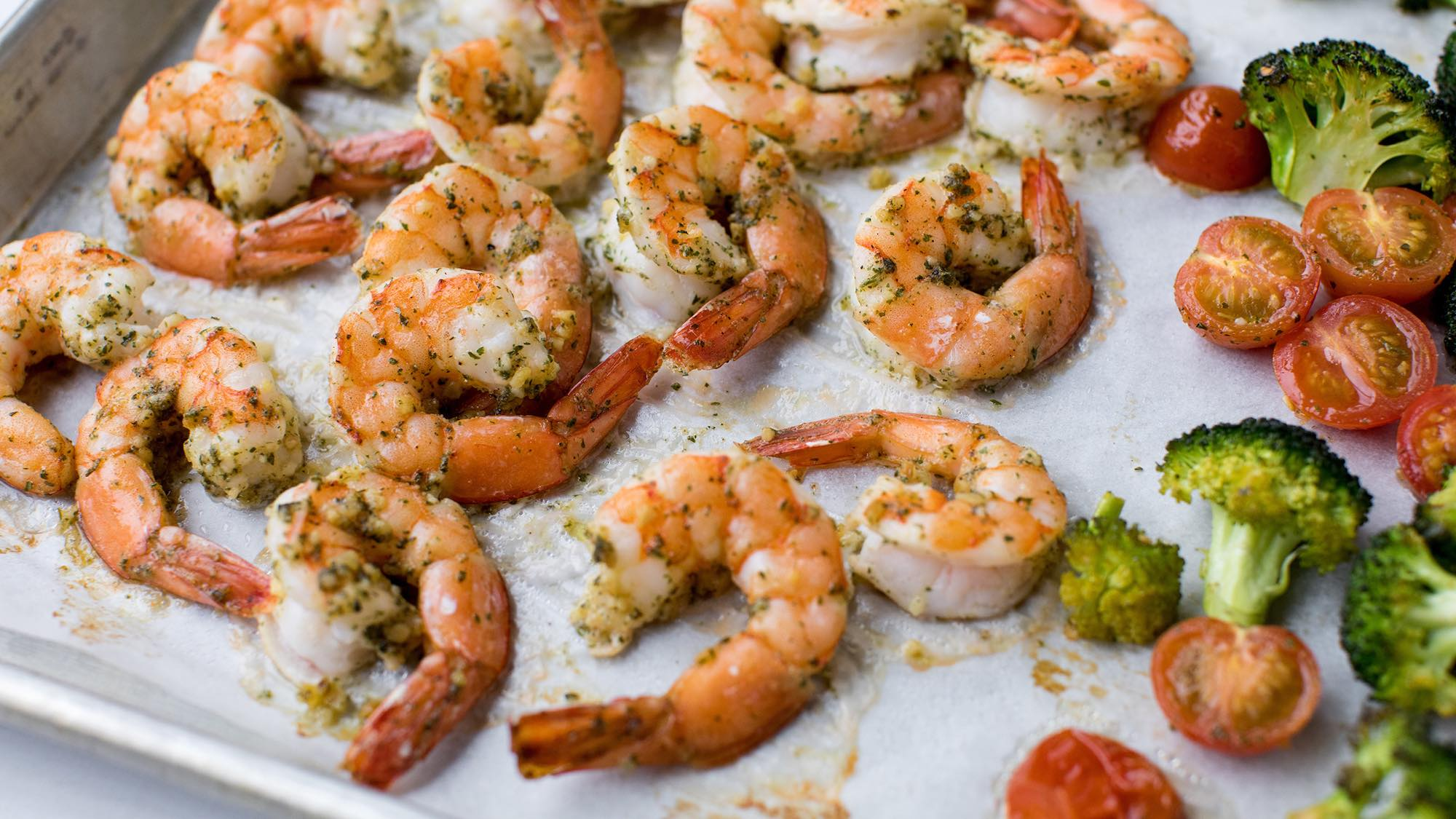 McCormick Sheet Pan Shrimp Scampi