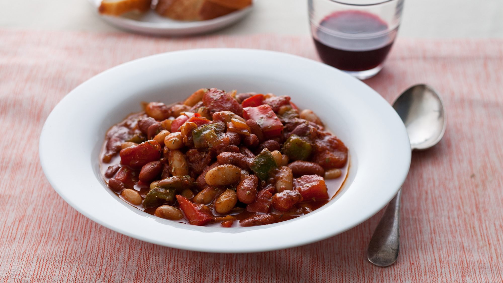 Kitchen Basics Vegetarian Bean Chili