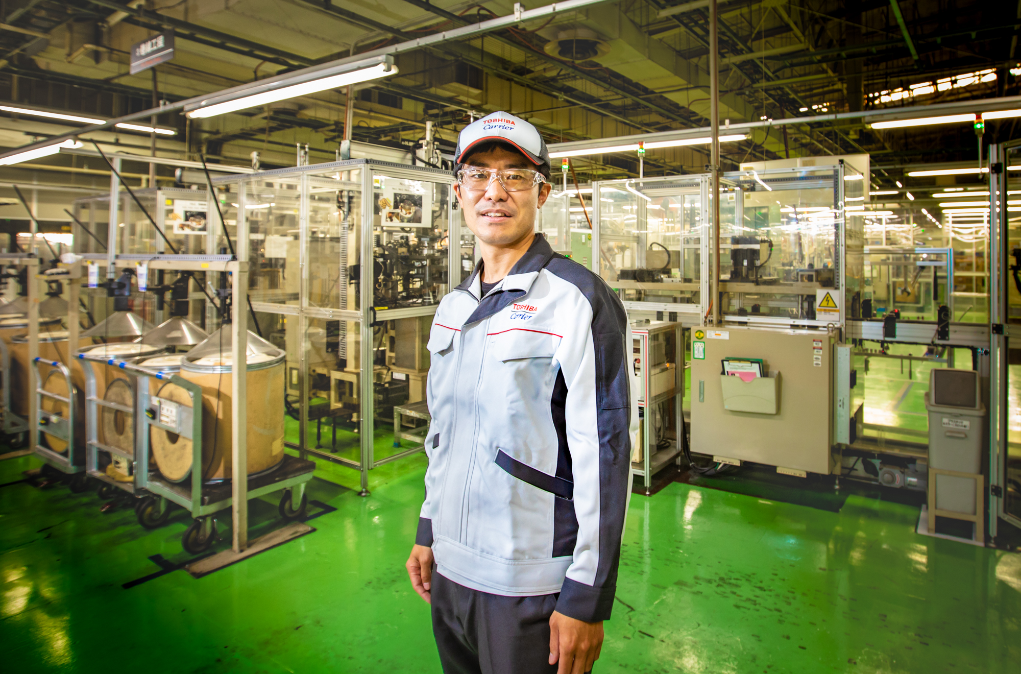 Mr. Masato Murase shares his experience as a facility maintenance engineer at Toshiba Carrier Corporation(3)