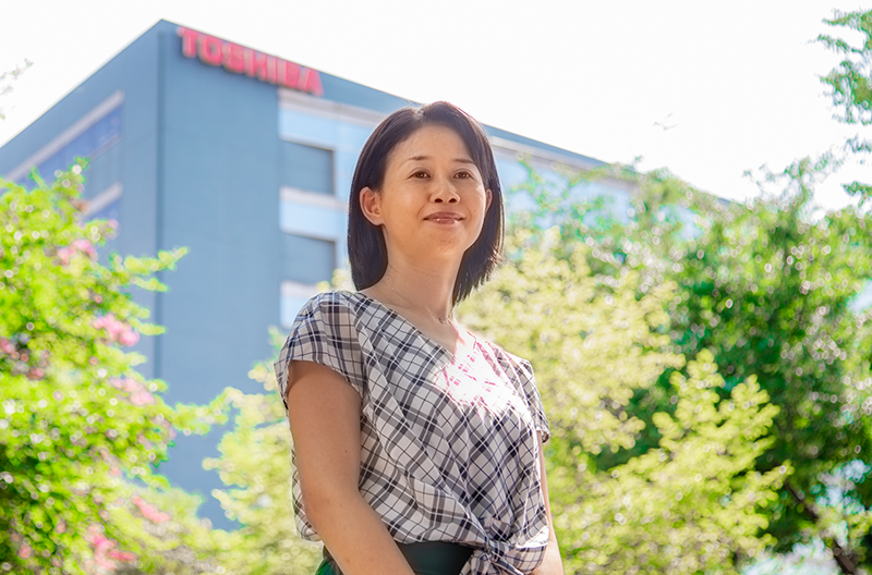 Wakana Fukase, ICT Solutions Division, Toshiba Digital Solutions Corporation