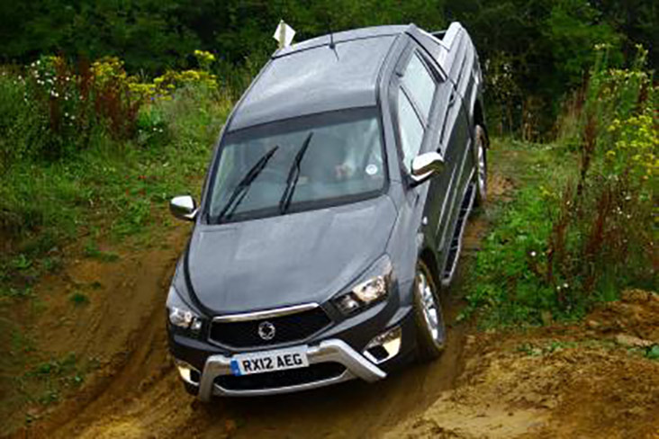 SSangyong support off-road driving